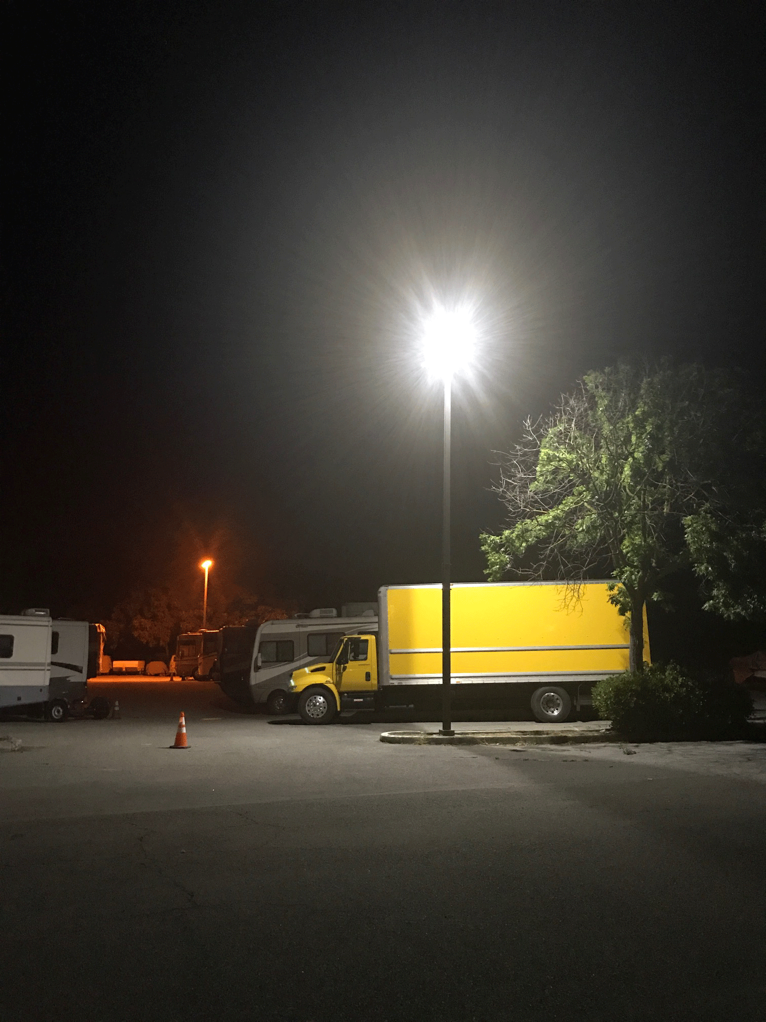 Elks Lot with TruFit Lamp